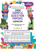 Oswaal CBSE Sample Question Paper Class 11 Chemistry  For March 2020 Exam