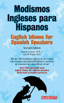 English Idioms For Spanish Speakers