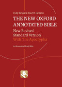 The New Oxford Annotated Bible with Apocrypha [Pdf/ePub] eBook
