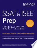 SSAT   ISEE Prep 2019 2020 Book