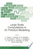 Large Scale Computations In Air Pollution Modelling Book PDF