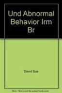 Essentials of Understanding Abnormal Behavior  Instructor s Resource Manual