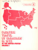 Pdf Vacation Travel by Canadians in the United States