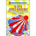 The Art Of Japanese Management Book PDF