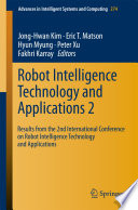 Robot Intelligence Technology and Applications 2 Book
