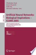 Artificial Neural Networks Biological Inspirations Icann 2005 Book PDF