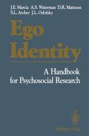Ego Identity [Pdf/ePub] eBook