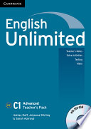 English Unlimited Advanced Teacher S Pack Teacher S Book With Dvd Rom