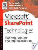 Microsoft SharePoint Technologies Book