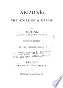 Ariadnê the Story of a Dream