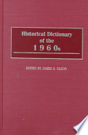 Historical Dictionary of the 1960s Book