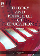 Pdf Theory & Principles of Education, 13th Edition Telecharger