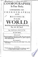 Cosmographie in Four Bookes