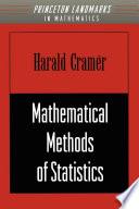 Mathematical Methods of Statistics Book