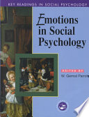 Emotions in Social Psychology
