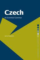 Pdf Czech: An Essential Grammar Telecharger