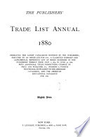 The Publishers  Trade List Annual Book PDF