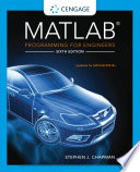 MATLAB Programming for Engineers Book