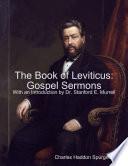 The Book of Leviticus  Gospel Sermons