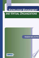 Knowledge Management And Virtual Organizations Book PDF