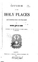 Guide to the Holy Places and Historical Sites in the Holy Land