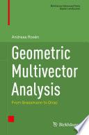 Geometric Multivector Analysis