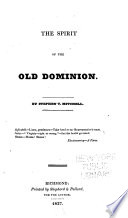 The Spirit Of The Old Dominion