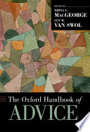 The Oxford Handbook Of Advice Book PDF