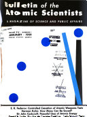 Bulletin Of The Atomic Scientists Book PDF