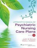 Lippincott s Manual of Psychiatric Nursing Care Plans Book