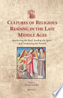 Cultures of Religious Reading in the Late Middle Ages