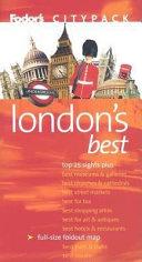 Fodor s Citypack London s Best