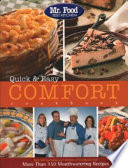 Mr. Food Test Kitchen Quick and Easy Comfort Cookbook