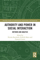 Authority and Power in Social Interaction Pdf/ePub eBook