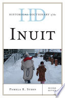 Historical Dictionary Of The Inuit