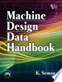 MACHINE DESIGN DATA HANDBOOK
