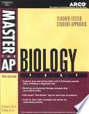 Arco Master the AP Biology Test