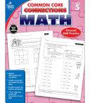 Common Core Connections Math  Grade 5