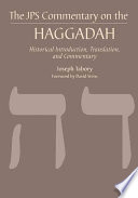The Jps Commentary On The Haggadah