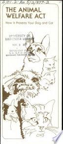 The Animal welfare act