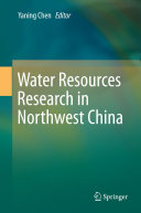 Water Resources Research in Northwest China