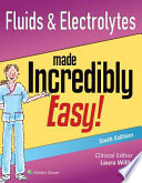 Fluids & Electrolytes Made Incredibly Easy! + Docucare, Two-year Access + Coursepoint+ Hinkle's Brunner & Suddarth's Textbook