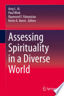 Assessing Spirituality in a Diverse World Book