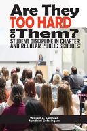 Are They Too Hard on Them  Student Discipline in Charter and Regular Public Schools