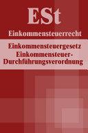 Einkommensteuerrecht - ESt