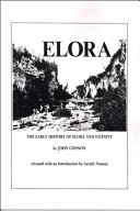 Pdf The Early History of Elora, Ontario and Vicinity