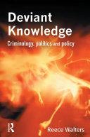 Pdf Deviant Knowledge