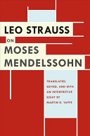 Leo Strauss on Moses Mendelssohn