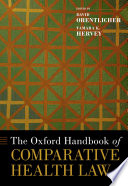 The Oxford Handbook of Comparative Health Law