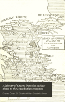 A History of Greece from the Earliest Times to the Macedonian Conquest